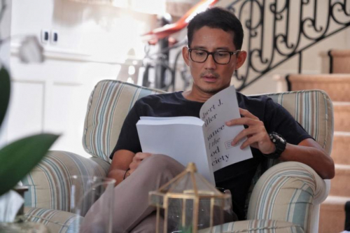 Sandiaga Uno Ajak Mahasiswa IKIP Siliwangi Berjiwa Entrepreneur